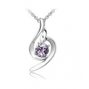 Romantic Style Luxury Crystal Embellished Necklace