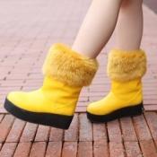 Plus size wholesale comfortable platform winter bo