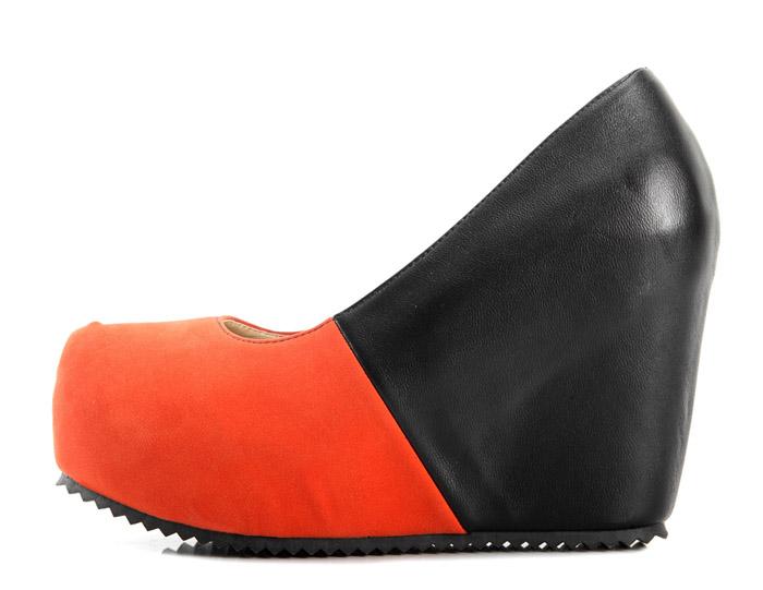 Wholesale Kvoll shoes comfortable wedges Apricot