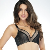 (Bra Sets) Deep V Phnom Penh Adjustable Brand Bras