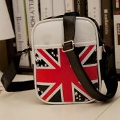 Fashion UK National Flag Print and Zipper Design B