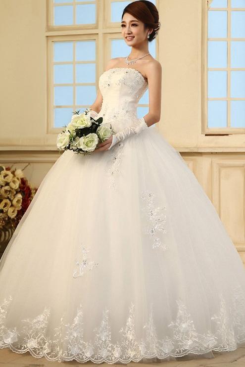 Colorful Gorgeous Princess Wedding Dresses Motif - Wedding Ideas ...