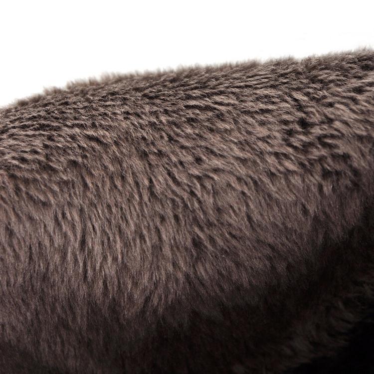 Invierno Round Toe Remaches Lace Up Chunky Tacón Azul Suede Martens Botas cortas