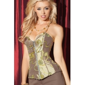 Gorgeous Golden Polyester Women's Holiday Mocha Co