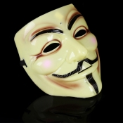 Fashion Halloween Cosplay V-Shape Vendetta Natural