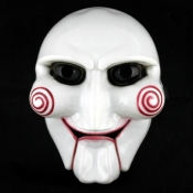 Halloween Cosplay PVC Mask Inspired by Saw