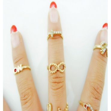Fashion Korean Metal Ring