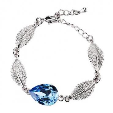 Fashion Blue Metal Bracelet