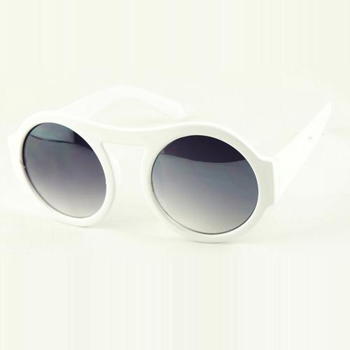 Fashion White Sunglasses