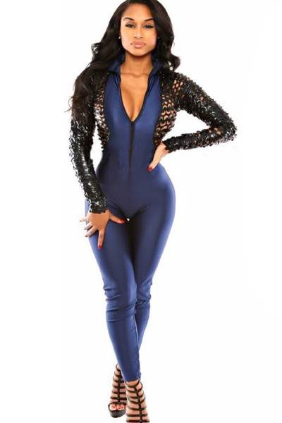 You will be able to make more than a fashion statement when you step out in one of our many long sleeve jumpsuits and everyone will be asking you where you purchased yours from. Snap one of our cheap long sleeved jumpsuits up now.