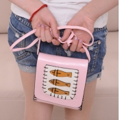 Women PU Fashion Animal Prints Hasp Coin Purses
