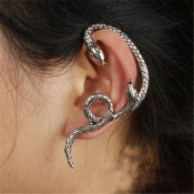 Cheap Fashion Wind Snake Shaped Antique Silver Met