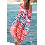 Patchwork Holiday Essential Print Cover-Up