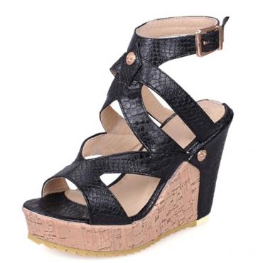 Sandalias de la correa del tobillo de la manera