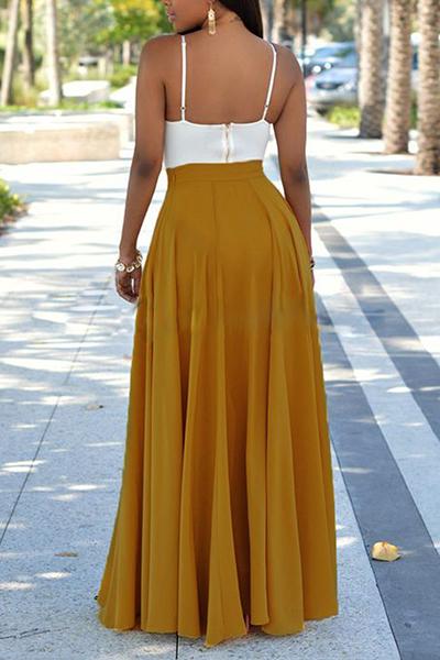 Citi trends Deep V Neck Asymmetric Hem Lace Up Casual Dresses images king street charleston