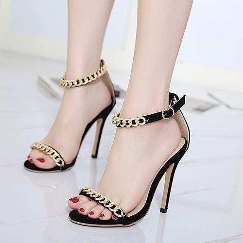 Замшевые Туфли На Супер Высокой Сандалии Мода