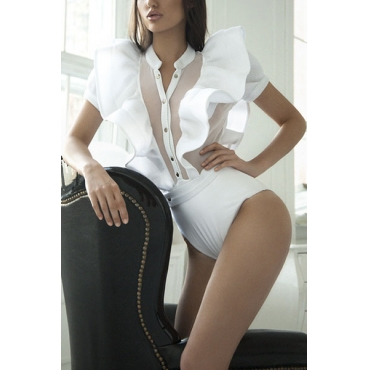 Polyester Solid Skinny Jumpsuits