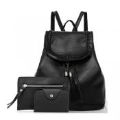 Fashion Zipper Design PU Backpacks
