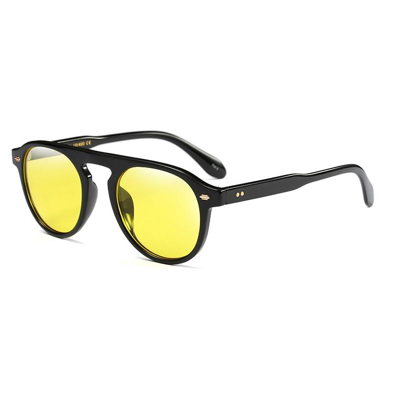 Стильные желтые солнцезащитные очки для ПК