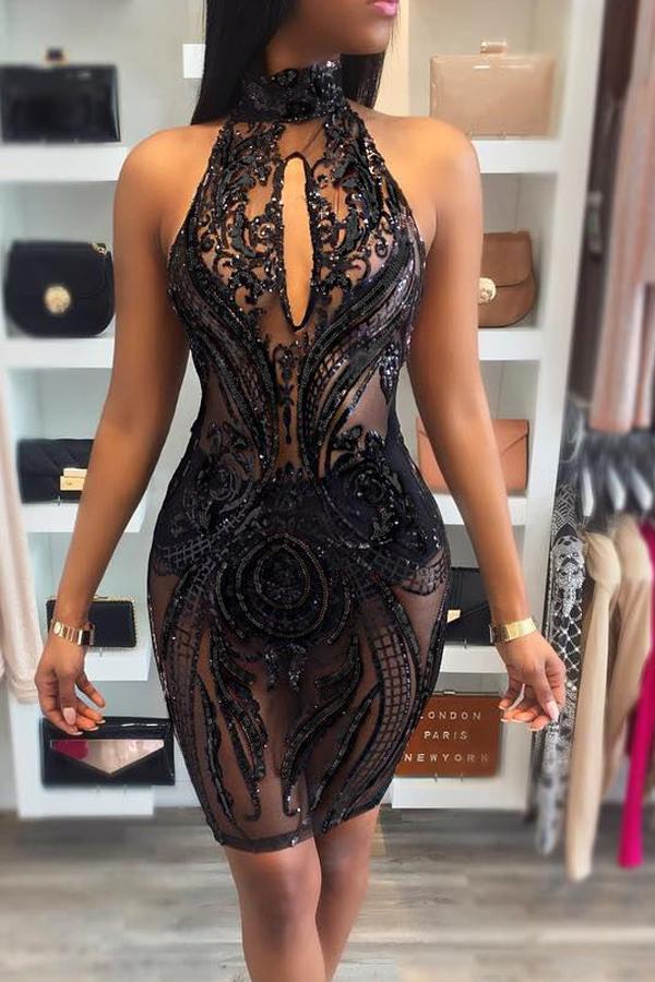 Sexy Knee Length Dress