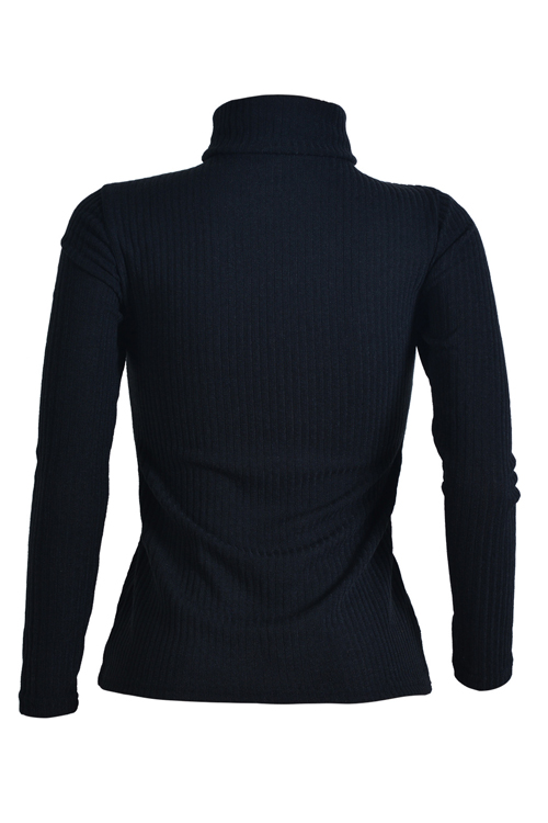 Sexy Deep V Neck Hollow-out Black Knitting Sweaters