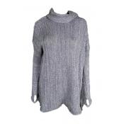 Lovely Winter Elegant Turtleneck Sweater