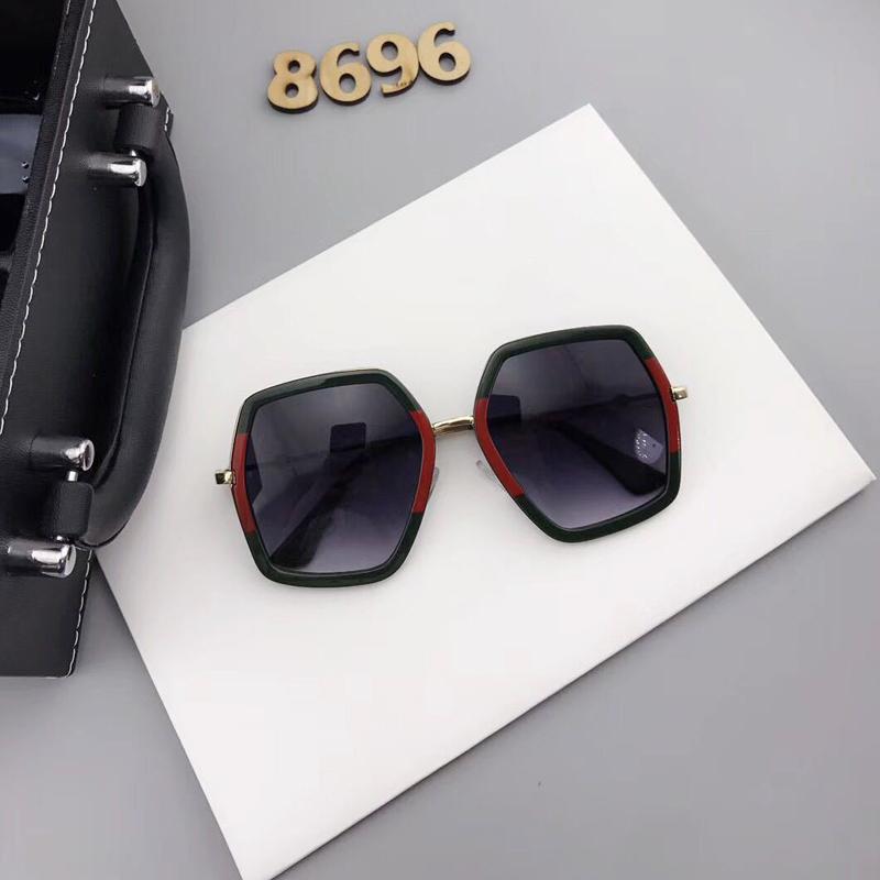 Euramerican Asymmetrical Black Plastic Plastic Eyeglasses