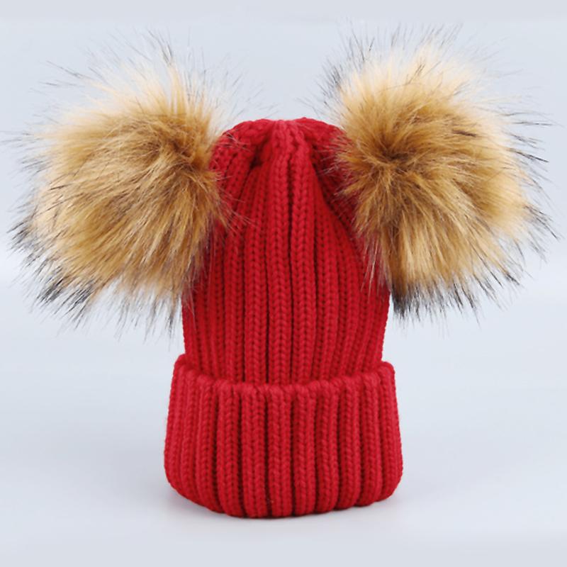 Sombreros De Acrílico Rojos Decorativos De La Bola Del Maomao Euramerican