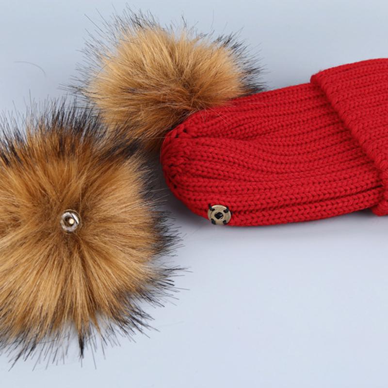 Модное Maomao Мяч Декоративные Шляпы Красный Акрил