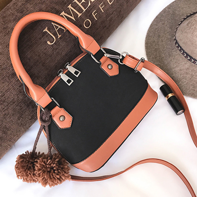 Fashion Zipper Design Brown PU  Clutches Bags