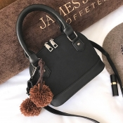 Fashion Zipper Design Black PU  Clutches Bags