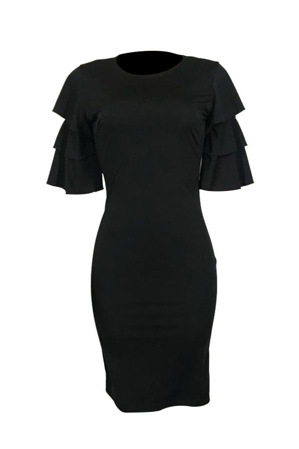 Сексуальное Платье С Длинным Рукавом С Длинным Рукавом