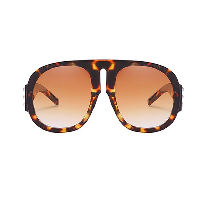Reizende Art Und Weiseniet Dekorative Leopard PC-Sonnenbrille