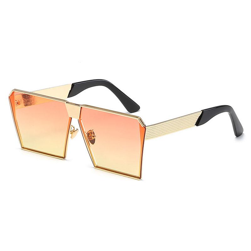 LovelyTrendy Orange PC Sunglasses
