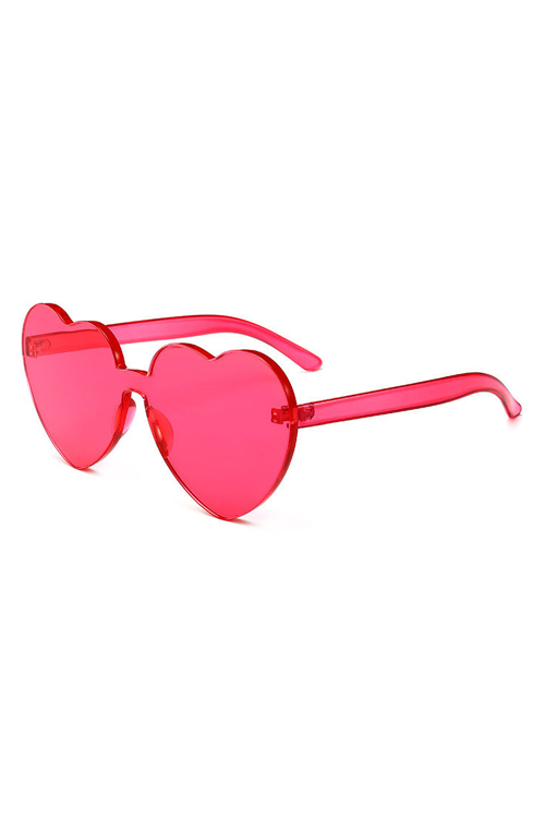 Lovely Red Plastic Sunglasses