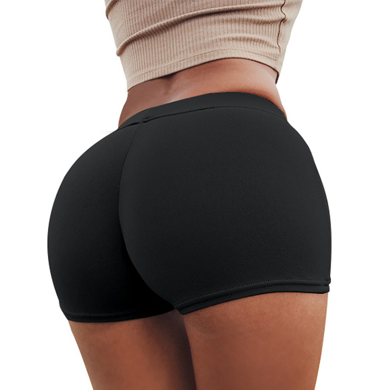 Lovely Black Skinny Shorts