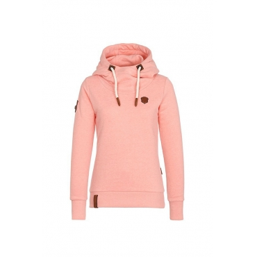 Lovely  Casual Long Sleeves Drawstring Pink Grey Hoodies