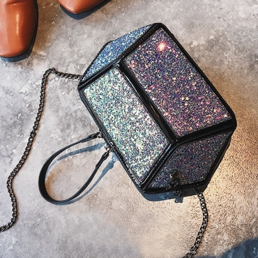 Lovely  Fashion Geometric Shape Multicolor Messenger
