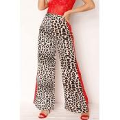 Lovely Elegant Leopard Printed Pants