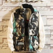 Lovely Sportswear Graffiti Green Cotton Vests