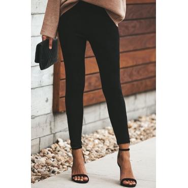 Lovely  Euramerican Skinny Black Pants