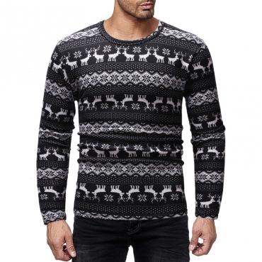 Lovely Euramerican Animal Black Blending T-shirt