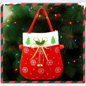Lovely Fashion Christmas Tree Ornaments Red Storag