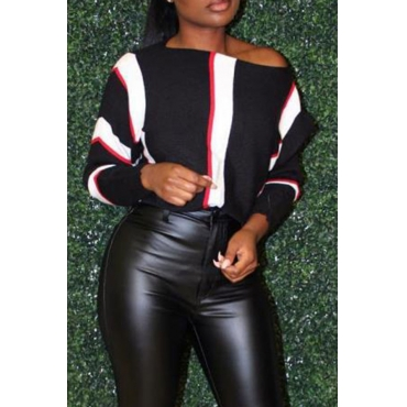 Lovely Casual Patchwork Black Twilled Satin Hoodies