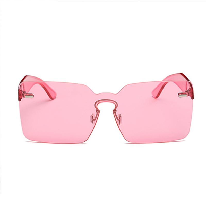 Schöne Mode Rote PC-Sonnenbrille