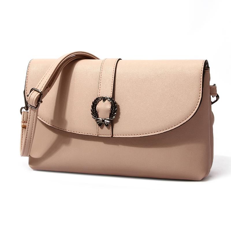 Lovely Elegant  Light Pink Crossbody Bag