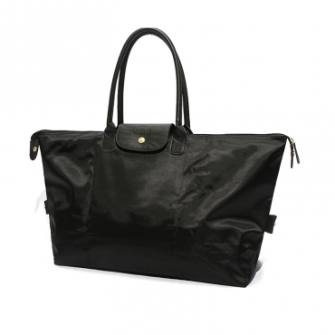 Lovely Casual Travel Large Black Shoulder Bags