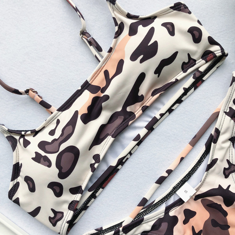 Lovely Sexy Animal Printed Bikinis