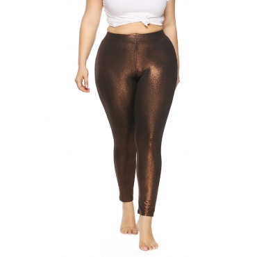 Lovely Trendy Skinny Brown Pants