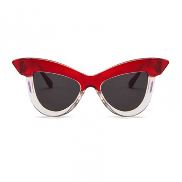 Lovely Chic Wine Red Sunglasses 39mm